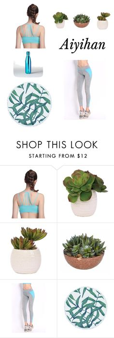 """""""Yoga at home day!"""" by aiyihan on Polyvore featuring Lux-Art Silks"""