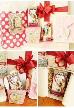 """Since Valentine's Day will be here soon, I thought it would be fun to show a little """"love"""" inspired packaging. Everyone likes to open someth..."""