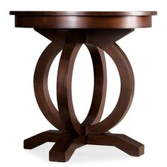 """612 to $390 26""""h 25""""d  Hooker Furniture Kinsey End Table"""