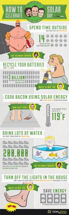How To Celebrate Solar Day[INFOGRAPHIC]