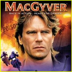 Used to watch MacGyver religiously with my uncle.  He looked like my uncle and was resourceful like my uncle.  Other than the explosions and the mustached sidekick, in my eyes he was my uncle.