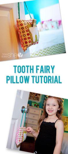 Fairy Easy! – Tooth Fairy Pillow Tutorial #howdoesshe #craftingwithkids #familytime howdoesshe.com