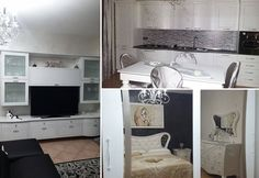 Maria Grazia's living, kitchen and bedroom by Spar! http://acasaconte.spar.it/iniziativa-a-casa-con-te/