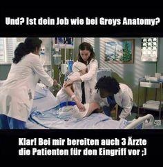 Nurse vs Krankenschwester oder Greys Anatomie vs Realität