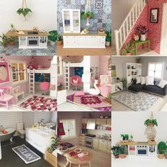 Dianne from @littlefishcreationsaus picked her best nine photos and we have to say they are amazing! What she can do with Lundby Dollhouse is inspirational