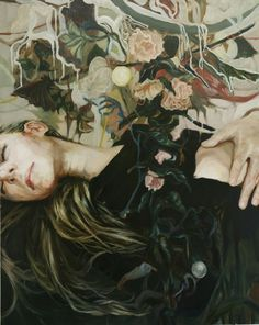 September 2013 ☞ Painting ☞ Meghan Howland is an artist based in Portland, Oregon. She studied painting at New Hampshire Institute of Art in Manchester. More of her paintings. Inspiration Art, Art Inspo, Surrealism Painting, Sculpture, Figure Painting, Figurative Art, Art History, Contemporary Art, Original Art
