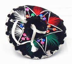 "6"" Miniature Charro Sombrero (color varies)"