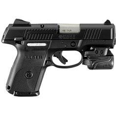 Ruger SR40c Semi Auto Handgun with Crimson Trace Light