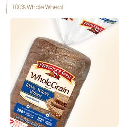 Pepperidge Farm - 100% whole wheat Whole Grain Breads