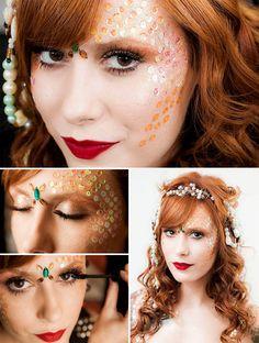 juliana rakoza maquiagem carnaval sereia