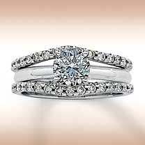 I have been hinting at a Solitaire Enhancer for FIVE years. Gemstone Jewelry, Diamond Jewelry, Gold Jewelry, Fine Jewelry, Solitaire Enhancer, Solitaire Rings, Wrap Wedding Band, 2 Carat, Dream Ring