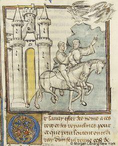 Histoire universelle depuis la Création jusqu'a César, MS M.516 fol. 114v - Images from Medieval and Renaissance Manuscripts - The Morgan Library & Museum