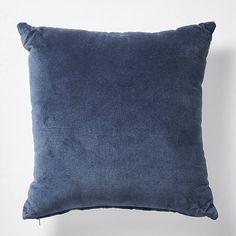 Navy Beach Luxe Velvet Cushion - 45cm