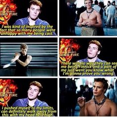 Sam claflin finnick hunger games catching fire