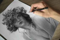 Slovak artist from Košice drawing via artistic name : Jossluka.  Jossluka has began drawing since he was 10 years old. He studied at elementary artistic school and now he studies at University of art in Košice.  He is known mainly for his pencil work of Kate Winslet (Rose from the movie Titanic).