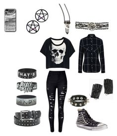 """""""IDK"""" by serenity-sempiternal2006 ❤ liked on Polyvore featuring Torrid, George, Converse and Marina Fini"""