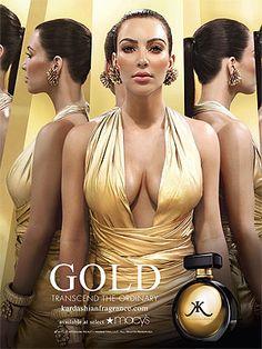 Gold- Kim Kardashian