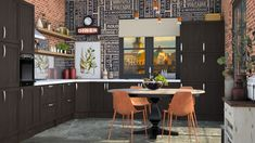 Roomstyler.com - Autumn kitchen Conference Room, Autumn, Kitchen, Table, Furniture, Design, Home Decor, Cooking, Decoration Home