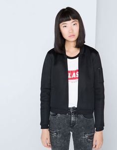 Bomber obsession! - #black #jacket