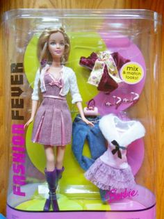 Barbie Fashion Fever Mix and Match 2005 NRFB 027084191660 | eBay