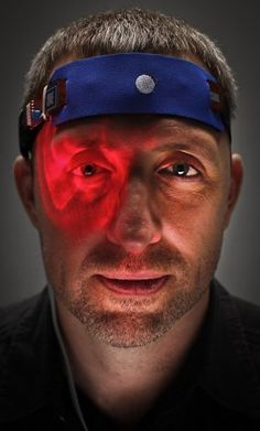 Dave Asprey is considered a guru of the biohacking movement. Asprey has helped develop a prototype HEG (Hemoencephalography ) neurofeedback device that helps train the brain, and he also uses a soliton laser which helps with healing. (via SFChronicle)