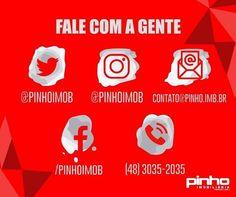 Fale com a gente! 🏢🏡 - - - - #pinhoimobiliária #imóveis #investir #vender #alugar #aluguel #locação #vendadeimóveis #comprar #investimento #imobiliáriapinho #imobiliária #pinho #caixa #saojose #florianopolis #brasil