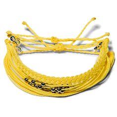 Yellow Sun Set  - Weltfreund Armbänder