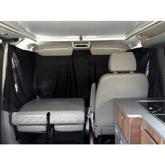Campervan cab curtains