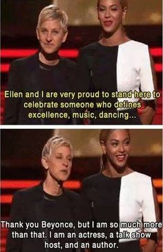 Because she's extremely confident. | 27 Reasons Ellen DeGeneres Will Be The Best Oscars Host*