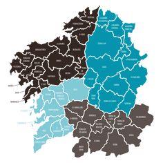 Mapa – Galicia Enteira | Rutas y Galicia Turismo
