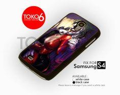 AJ 3883 Harley Quinn & Joker - Samsung Galaxy S IV Case | toko6 - Accessories on ArtFire