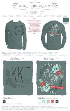 Tis The Season | To Be Jolly | Kappa Christmas | Socials | Mixers | KKG | Kappa Kappa Gamma | Sorority Life | Sisterhood | shirtsforgreeks.com