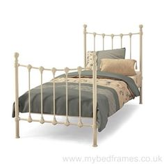 Casa Marseilles Bedstead: Marseilles gloss ivory bedframe from our Casa collection. The Marseilles bed frame is of… Metal Bedsteads, Bed Centre, Period Living, Super King Size Bed, Leather Bed, Childrens Beds, Under Bed, Guest Bed, New Beds