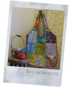 Mon premier sac en patchwork // mi primer bolso en patchwork