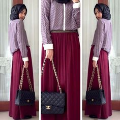 Rani Hatta style.. my new qiblat for simple hijab fashion.