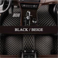 Coverking Custom Fit Front Floor Mats for Select BMW 5-Series Models Black Nylon Carpet