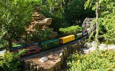 Chicago Botanic Garden's Minature Railroad Garden. I would love to see this!