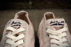 Converse Jack Purcells - Steve McQueens favourite shoe...