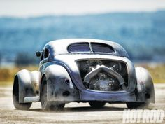 '37 Ford Coupe - I'm not usually a Hot Rod guy, but this ticks every damn box. It's great.