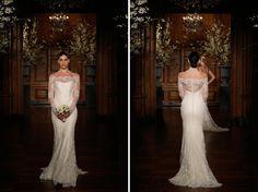 { Bridal Couture Collection – WIOSNA 2014 – Spektakularna Romona Keveza }   Sweet Wedding.pl