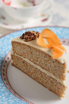 κέϊκ καρότου χωρίς ζάχαρη