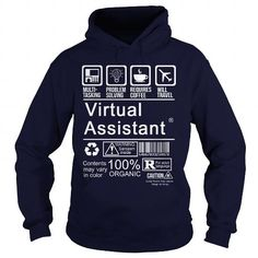VIRTUAL ASSISTANT CERTIFIED JOB TITLE T Shirts, Hoodie