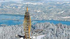 Klagenfurt, Burj Khalifa, Where To Go, Skiing, Travel, Villach, Winter Vacations, National Forest, Road Trip Destinations