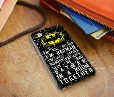 Batman quotes im not batman sparkly glitter  by ojoturuwaecok, $14.99 I LOVE THAT QUOTE!!!!!!