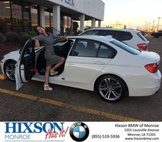 #HappyAnniversary to Carolyn Clampit on your 2014 #BMW #3 Series from Everyone at Hixson BMW of Monroe!