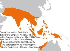 Ashokas son, Bharat had carried on the Hindu rule until Northern India (modern day Afghanistan) was invaded by Islamic invaders which bought violence and massacres to the Hindu cities from the year 1000 Gernal Knowledge, General Knowledge Facts, History Of India, Ancient History, Hinduism History, Hindu Culture, India Map, India Facts, Amazing India