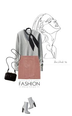 A fashion look from February 2016 featuring long sleeve shirts, mini skirts and handbag purse. Uniqlo, Simple Style, Fendi, Polyvore, Image, Fashion, Moda, La Mode, Fasion
