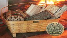 Peterboro Basket Company Review: Magazine Basket #USAmade
