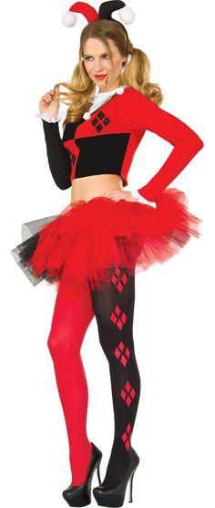 Make Your Costume - Womens Harley Quinn #3 Halloween Hq, Halloween Outfits For Kids, Black Halloween Costumes, Halloween Costume Accessories, Halloween Ideas, Cookie Costume, Joker Clown, Circus Costume, Harley Quinn Cosplay