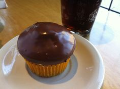 Boston cream cupcake!